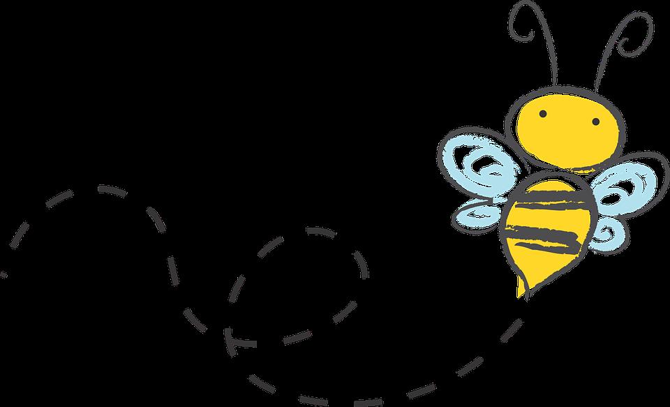 Free Image on Pixabay Bee, Cartoon, Bumble, Honey, Icon