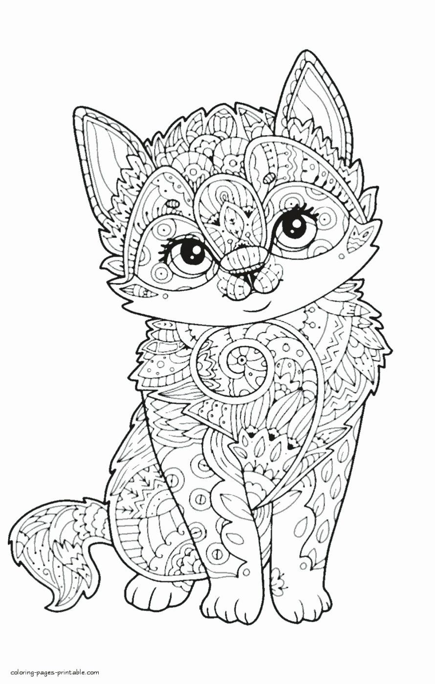 Coloring Book Zoo Animals Inspirational Coloring Books Animal Coloring Pages For Adults Best A Zoo Animal Coloring Pages Kittens Coloring Animal Coloring Books