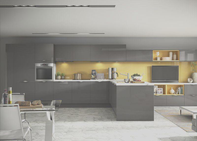 11 Unique Yellow And Grey Kitchen Decor Gallery Design