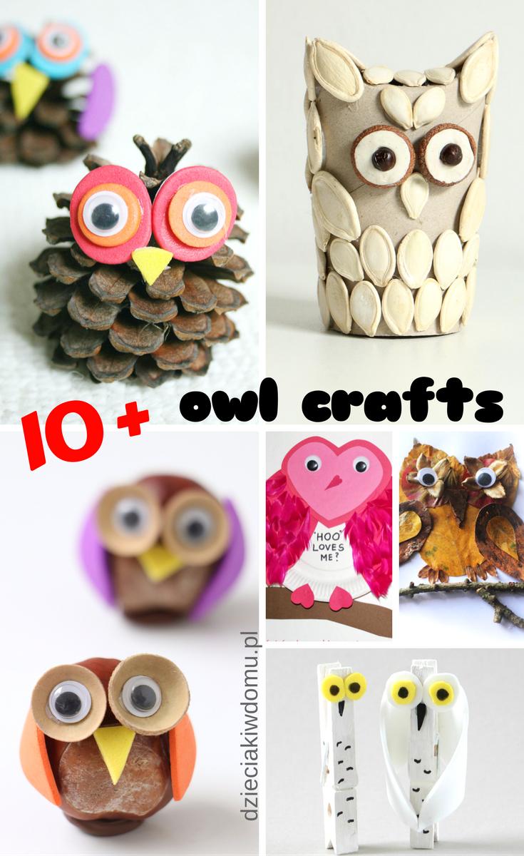 Owl Craft Ideas For Kids Part - 43: Owl Craft Ideas For Kids / Jak Zrobi? Sow? - Kreatywne Pomys?y Dla Dzieci