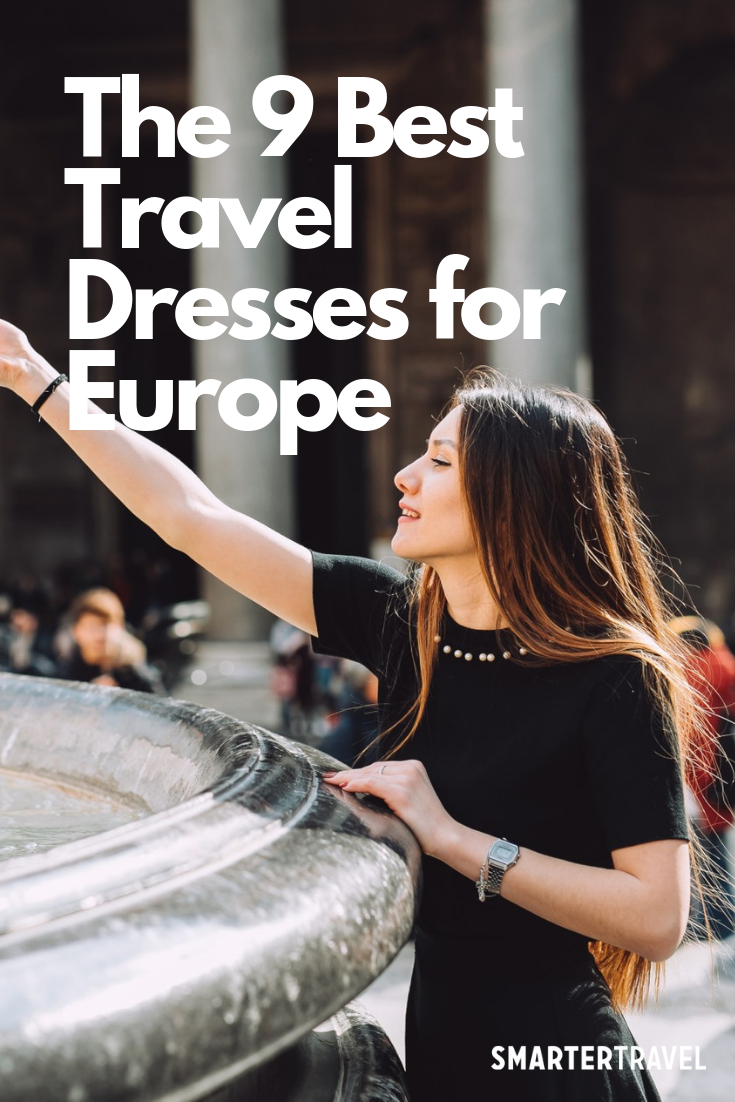 The 9 Best Travel Dresses For Europe Travel Dress European Vacation Outfits Stylish Travel