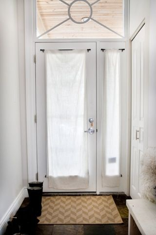 27 front door curtain ideas