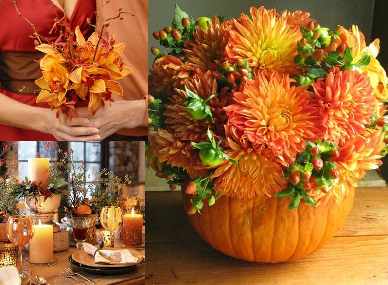 Fall Flower Arrangements for Your DIY Wedding | Fall flowers ...