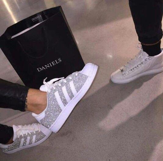 adidas superstar glitzer glitter bling