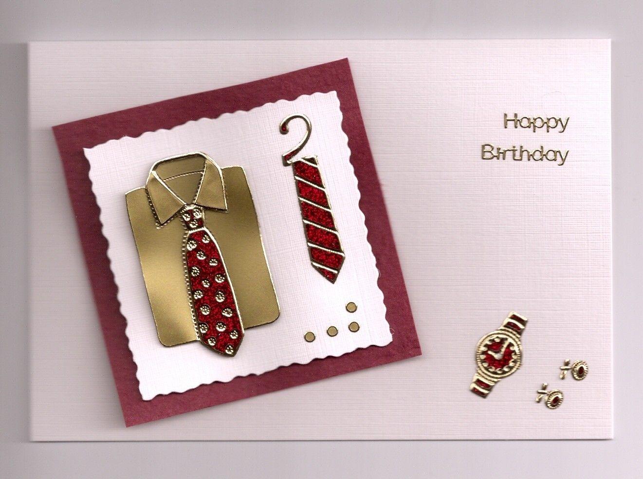 handmade birthday cards for men : let's celebrate! | masculine cards
