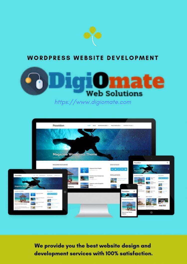 We Provide WordPress Website Development on Affordable