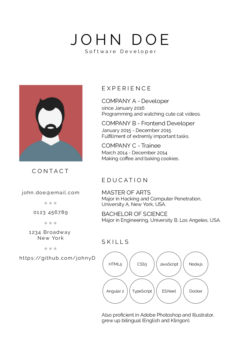best resume ever build fast and easy multiple beautiful resumes and create your best cv ever made with vue and less - Best Resume Ever