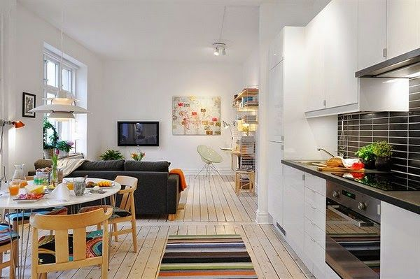 Minipisos Y Espacios Pequenos Decorar Pisos Pequenos Disenos De Apartamentos Pequenos Decoracion De Interiores