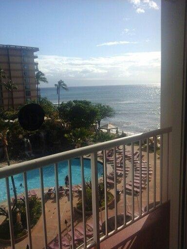 View From My Balcony At Kaanapali Beach Club Maui Beach
