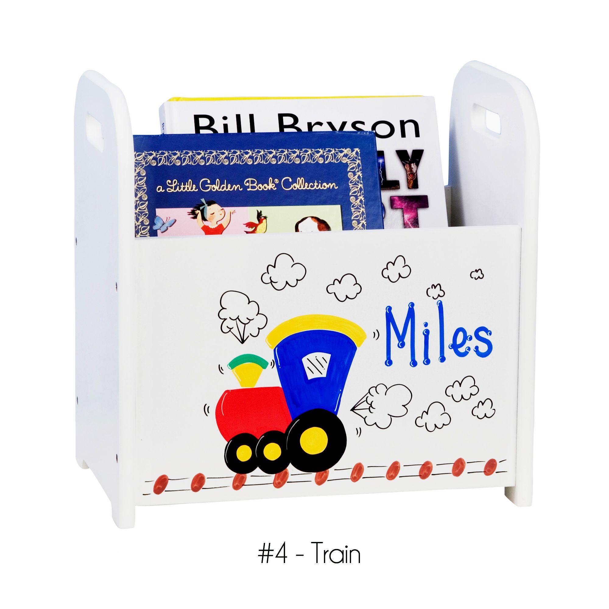 Cool Train Caddy Book Holder For Children Www Babyshower Ca Gifts