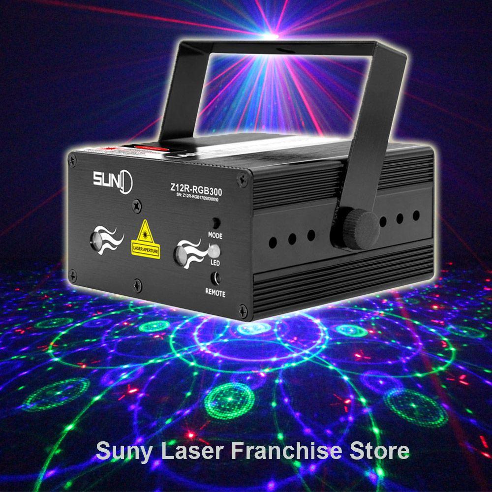 SUNY Meerdere Patroon Laser LED Podium Verlichting Kleurrijke ...