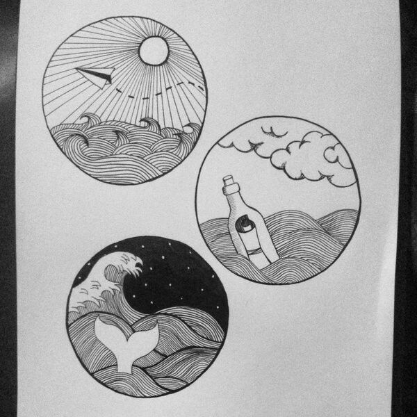 Ink Circle Drawing Circle Art Cool Art Drawings