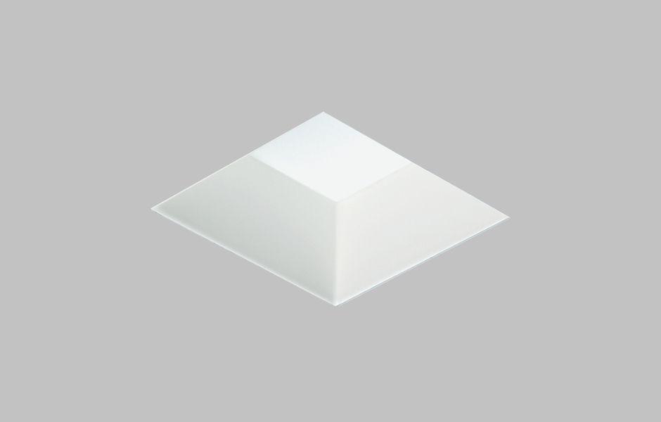 9006 Square Trimless Bevel Low Voltage Halogen Adjustable Recessed Lighting Downlights Ceiling Lights