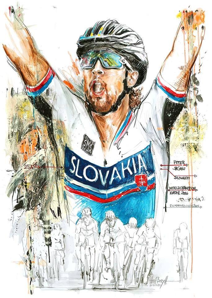 85750ee6b Peter Sagan by Horst Brozy. … | Bicycle Shop | Monta…