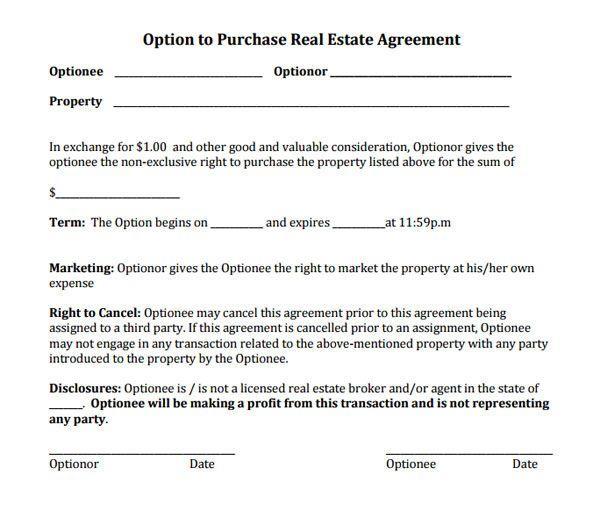 Wholesale Real Estate Contract Form Gandafullring