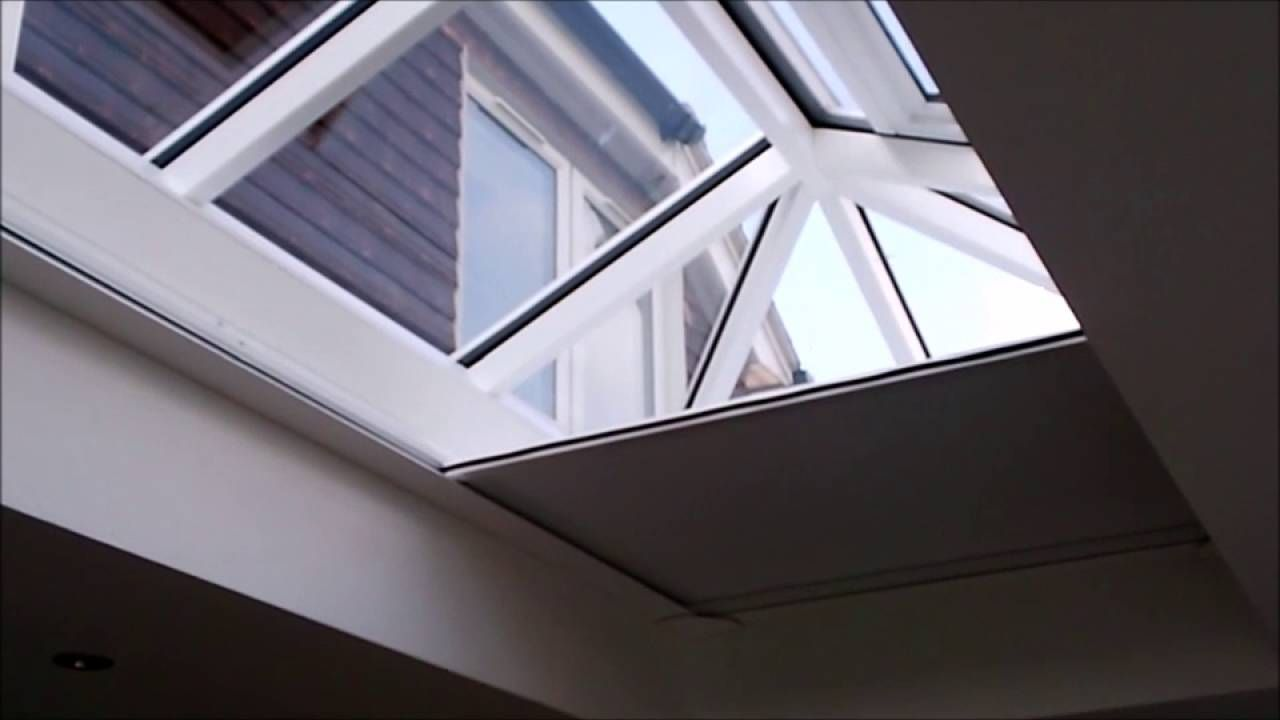 Need A Super Quiet Electric Blind For Your Roof Lantern Or