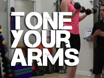The Best Way to Tone Your Arms: Just doing a few bicep curls is not going to get you any sort of significant toning in your arms. To reveal that muscle, you've got to burn fat at the same time. Stephen shows you the best way to burn body fat while you tone your arms.