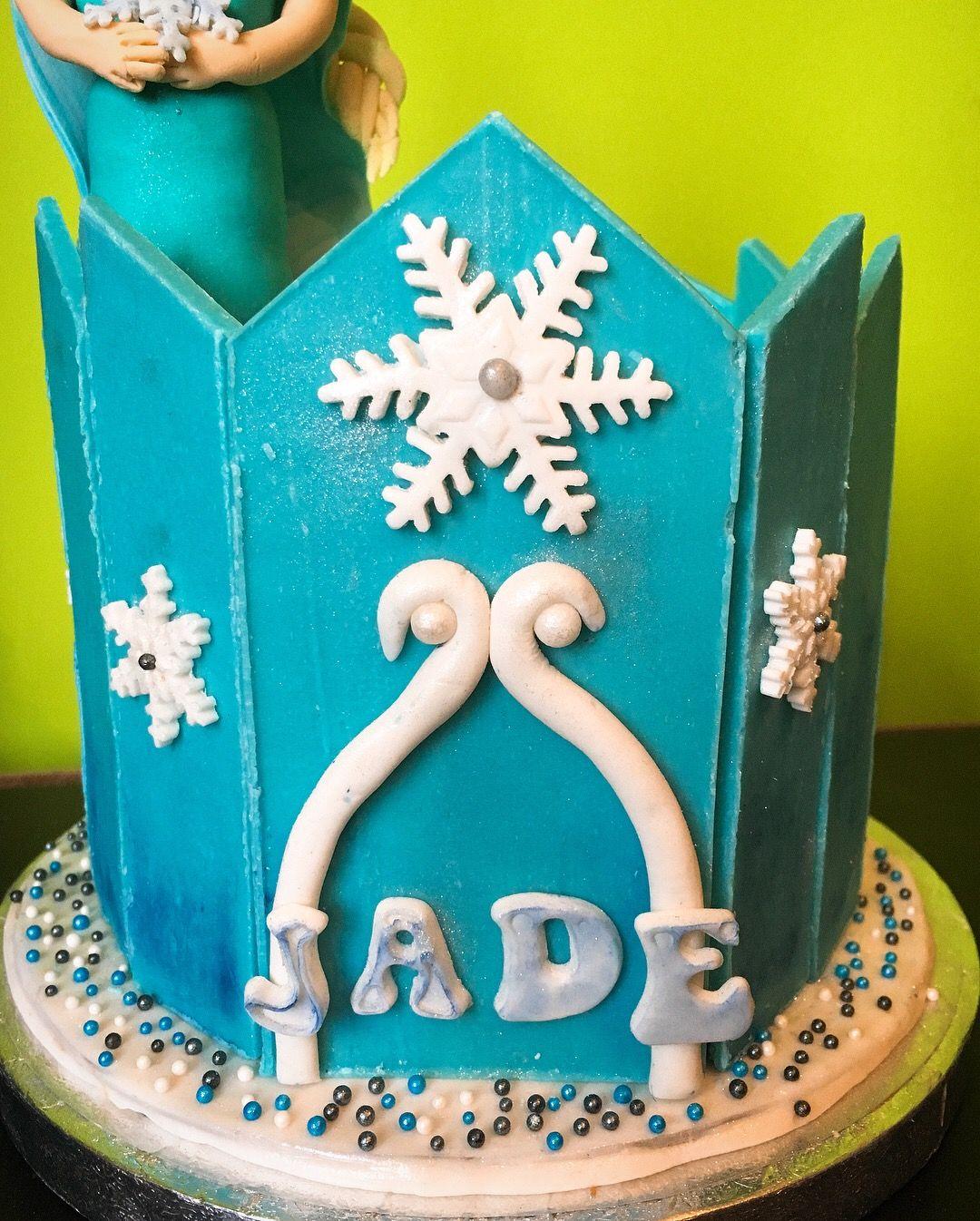 Elsa Frozen Birthday Cake Candy Melts Sweety Yummy