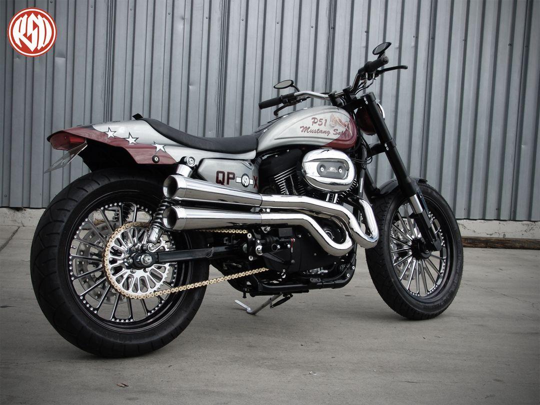 1973 Harley Davidson Xr 750 Motorcycle Cool Daredevil: Roland Sands Design
