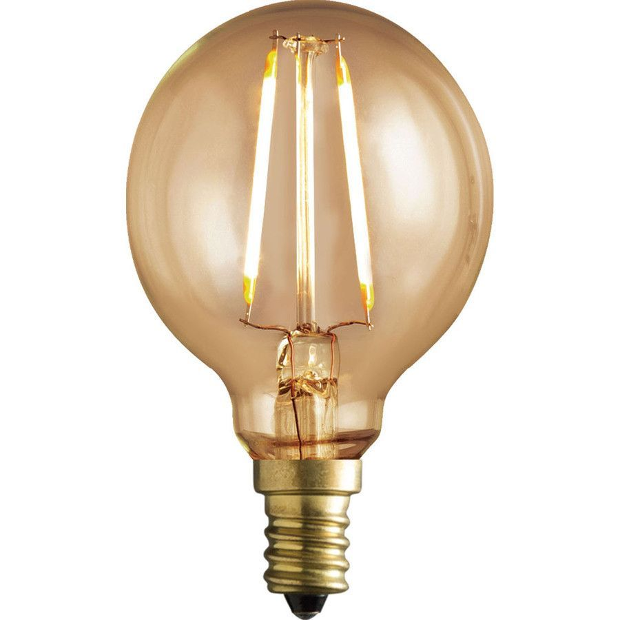Kichler Lighting Vintage 40w Equivalent Dimmable Amber Led Decorative Light Bulb