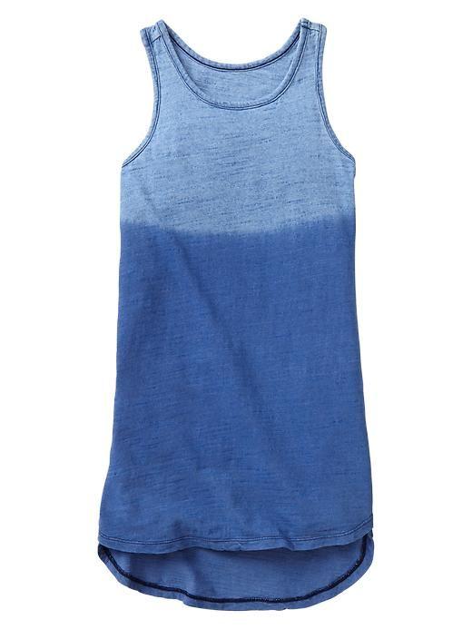 Girl's dip dye dress