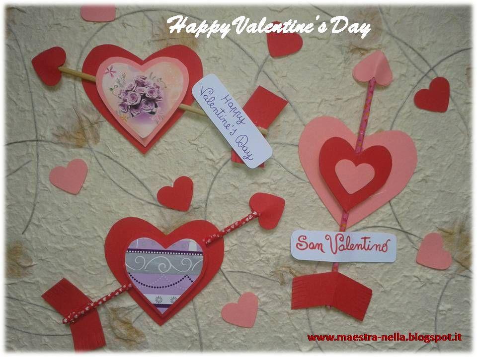 maestra Nella San Valentino , Frecce