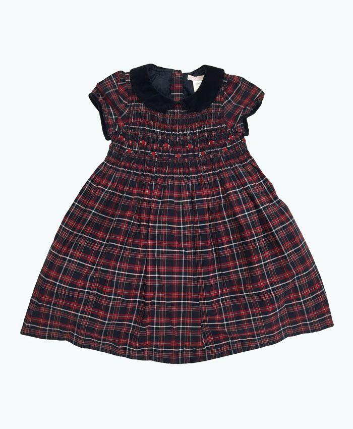 78cf6f67b27a Janie and Jack Girls Smocked Holiday Dresses   Berri Kids Resale Boutique.  #smockdress #girlsdresses
