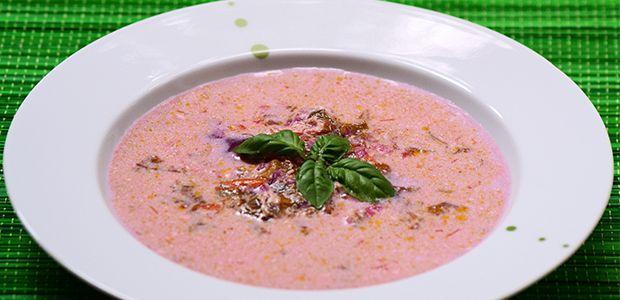 Red orach sour soup