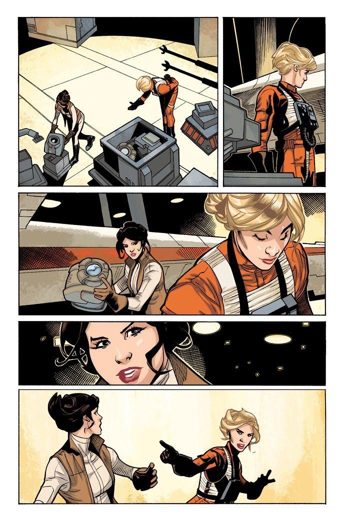 Marvel's Princess Leia comics
