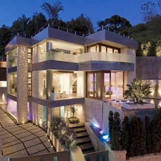 Located in Southern California the Beverly Grove home was
