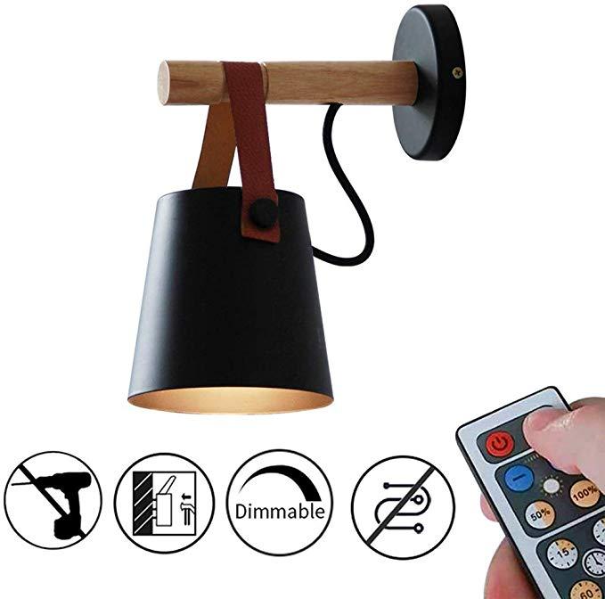 Amazon Com Anye 1 Light 55 Lumens Led Remote Control Battery