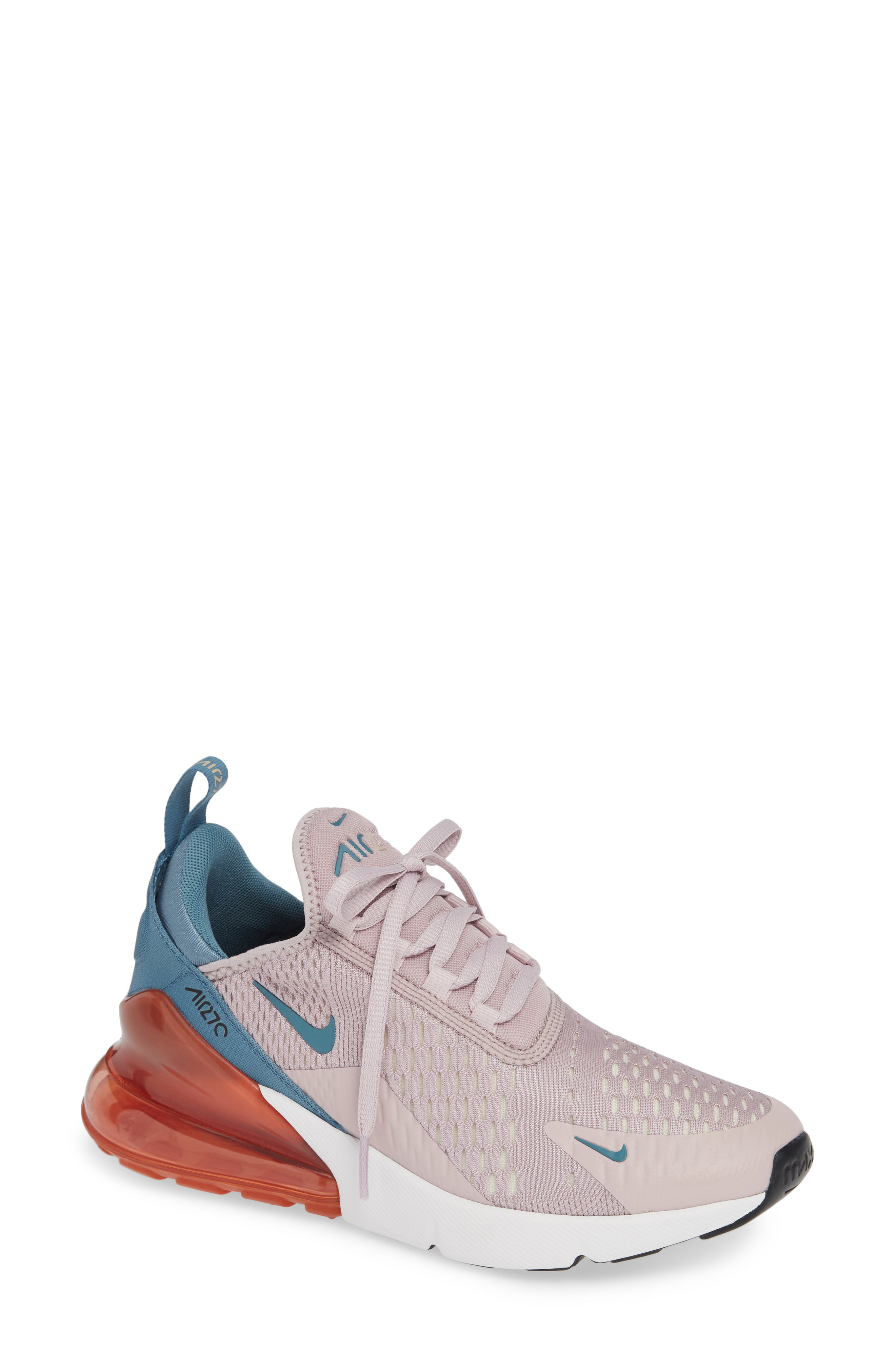 Nike Women's Nike Air Max 270 Premium Sneaker, Size 5.5 M White from NORDSTROM | Shop