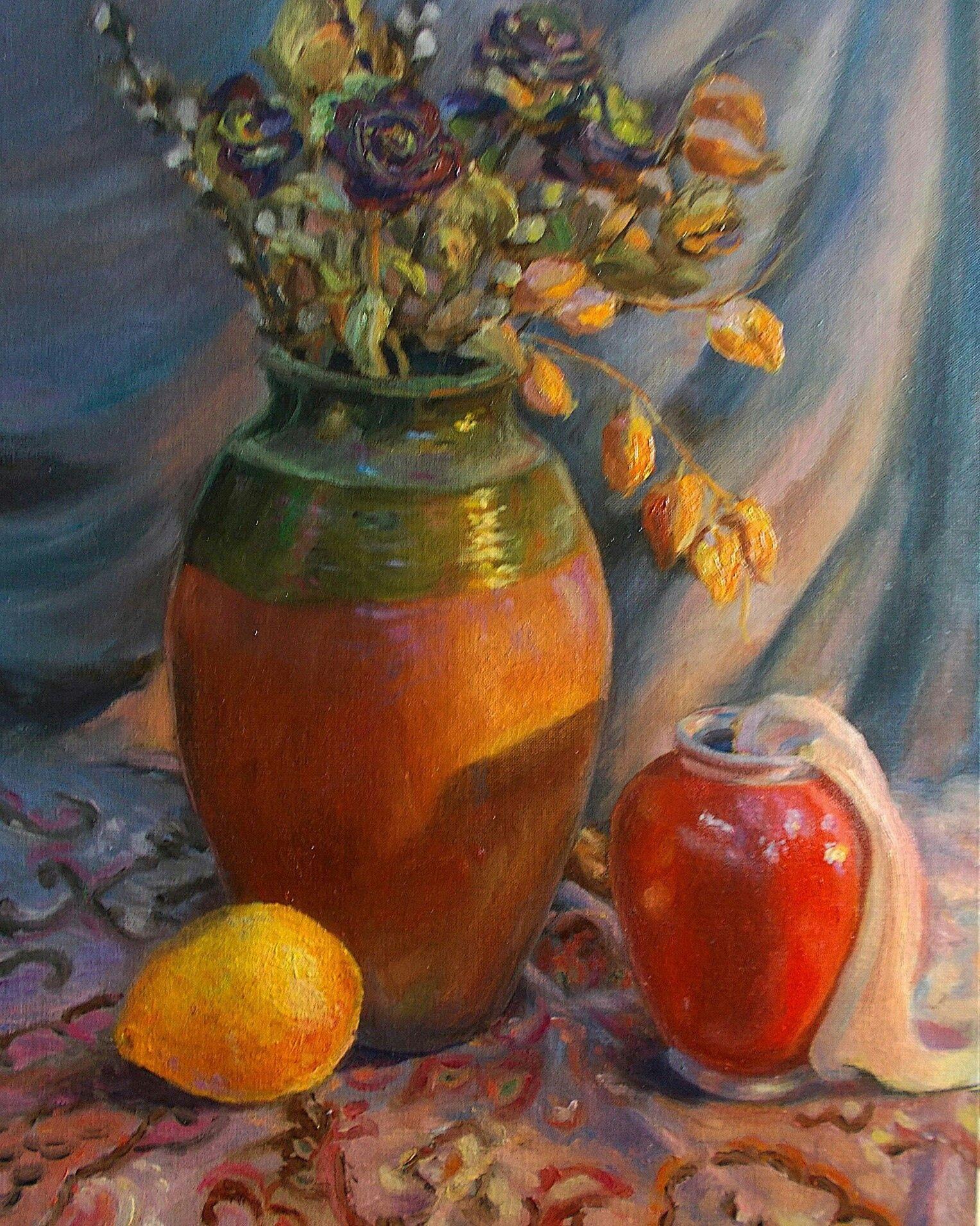 Prus Ruslan.Oil on canvas. 50x35 cm. Old work . 2015.