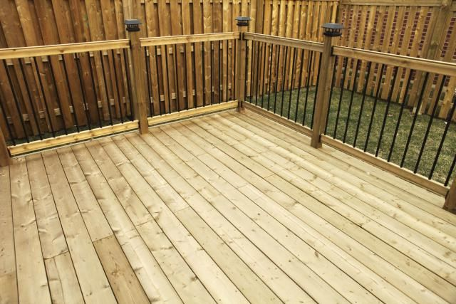 Learn The Pros And Cons Of Different Types Of Decks Cool Deck Building A Deck Wood Deck