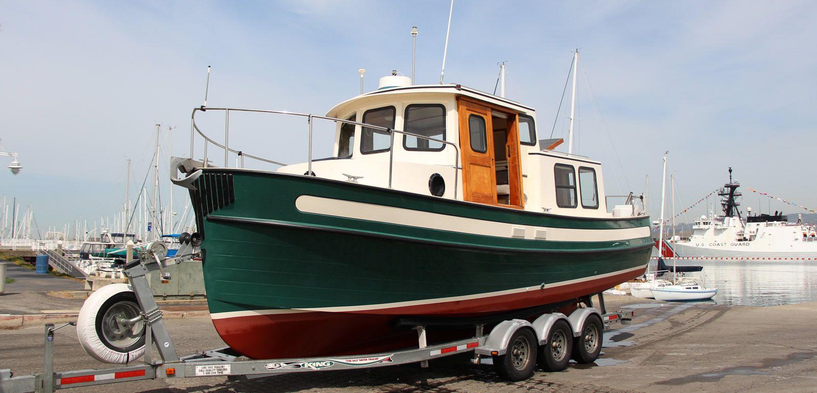 Nordic Tug 26   Ships   Trawler yacht, Yacht broker, Boat