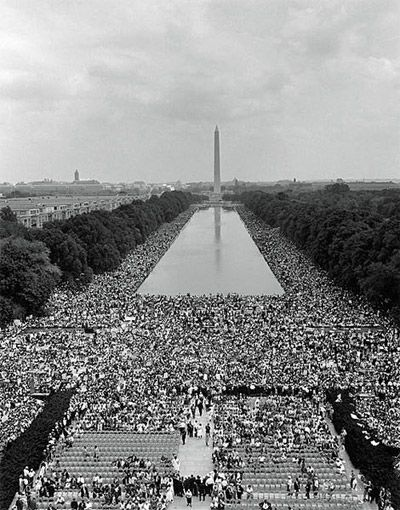 Martin Luther King's 'I have a dream' speech (1963)