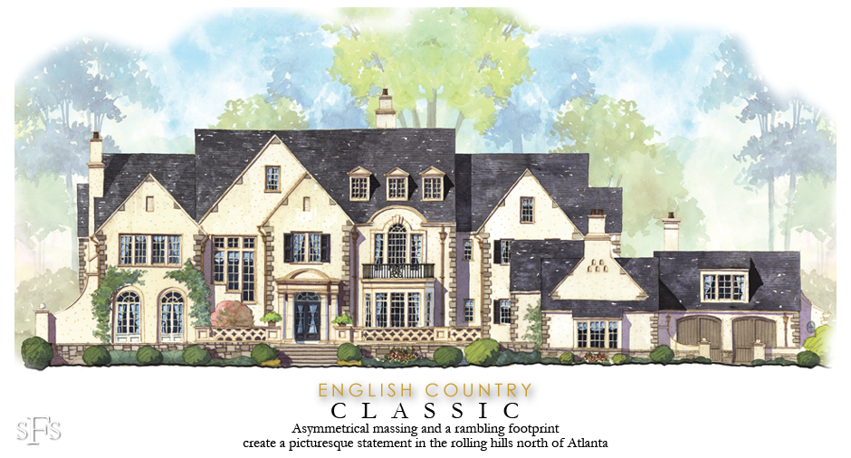 English Country Classic By Stephen Fuller English Architecture French Exterior Mansion Floor Plan