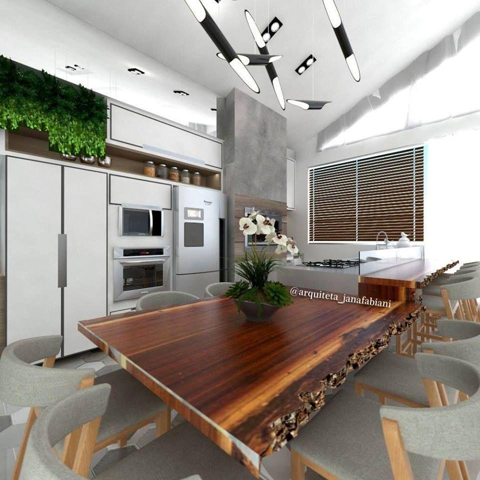 Cozinha industrial madeira mesa de madeira bruta estilo for Mesa estilo industrial