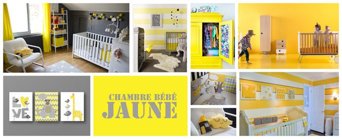 1000 images about ides chambre enfant on pinterest - Decoration Chambre Bebe Jaune
