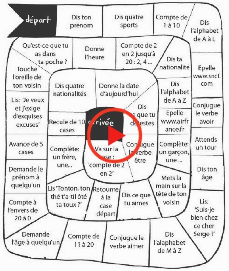 Prenant La Parole A Faible Preparation Activites Pour La Classe De Langue Jeu De L Oie Francais Debutant Activite