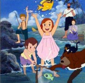 The Swiss Family Robinson Flone Of The Mysterious Island فلونه Old School Cartoons Cartoon Artwork Old Cartoons