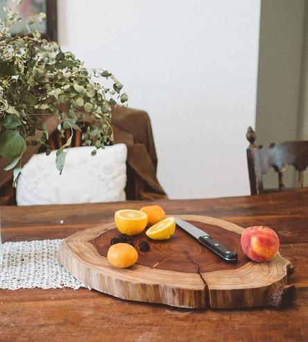Redwood Slab Platter