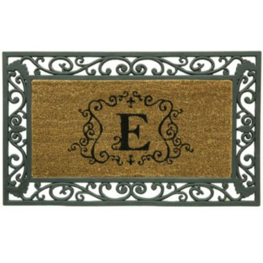 Bacova Framed Coir Monogram Doormat   found at @JCPenney