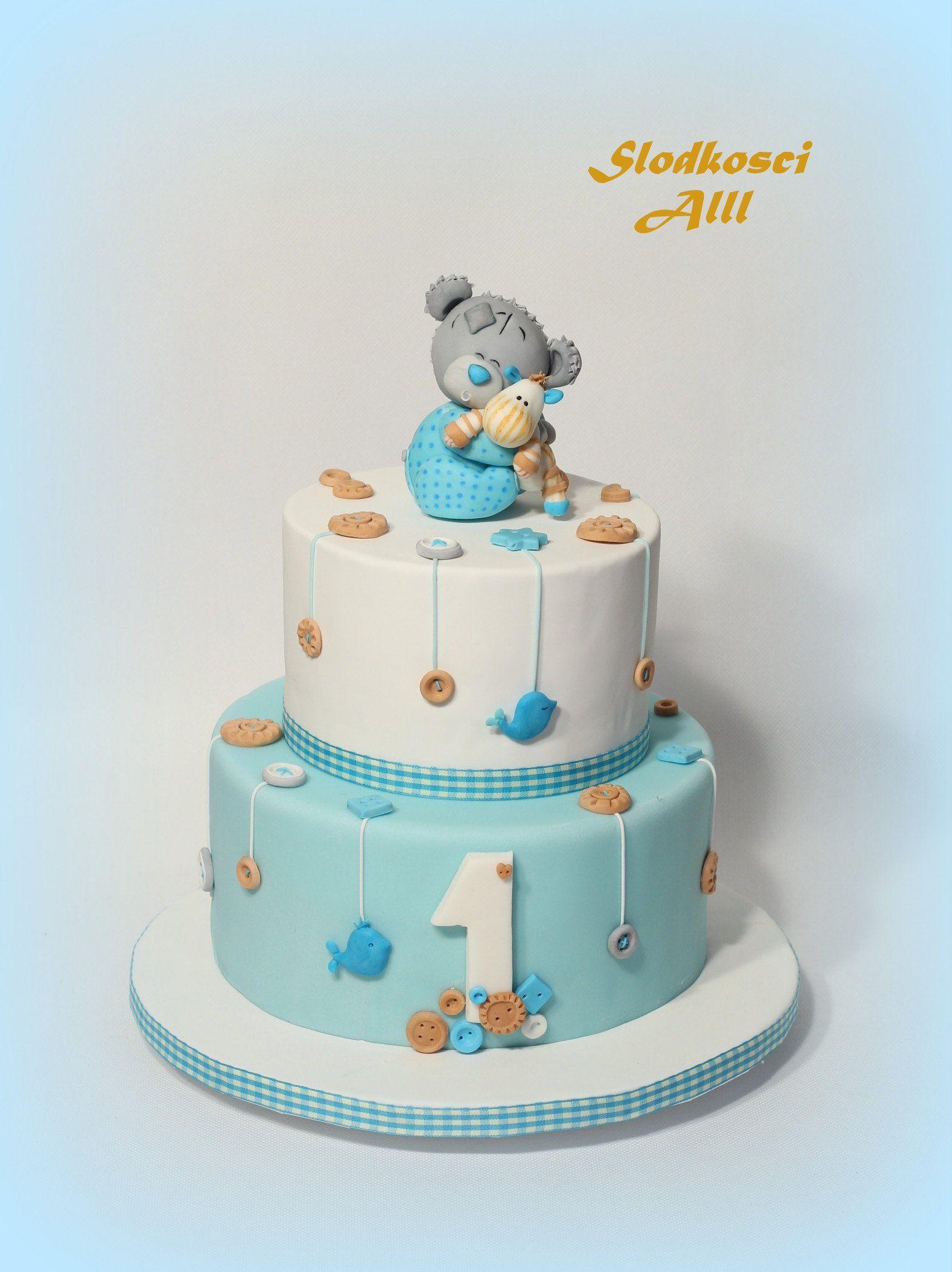 Tort Na Roczek Szukaj W Google With Images Tort Urodziny