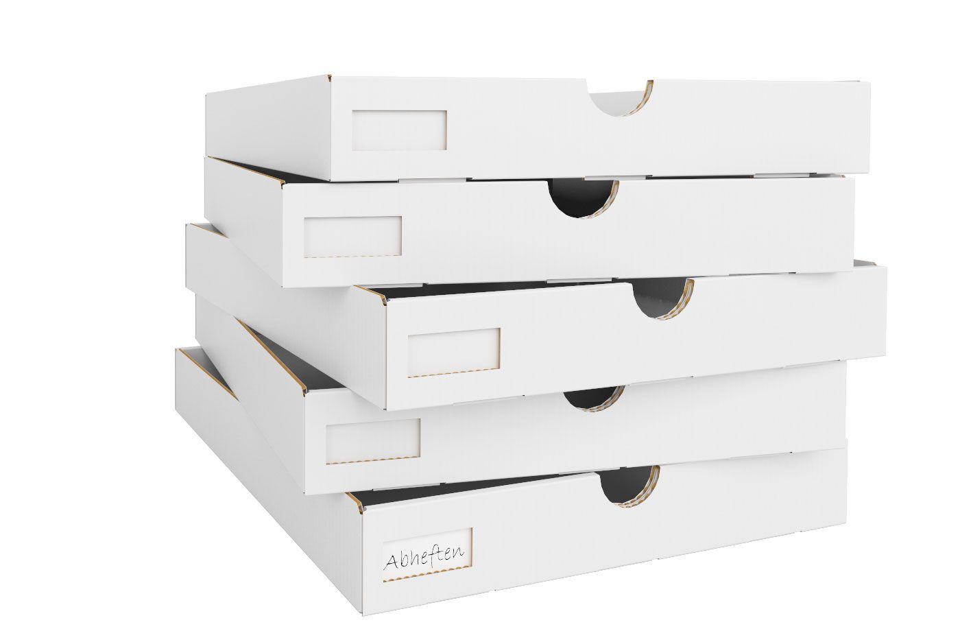 Pappschubladen für Kallax Regalteiler 5er Set in 2020 ...