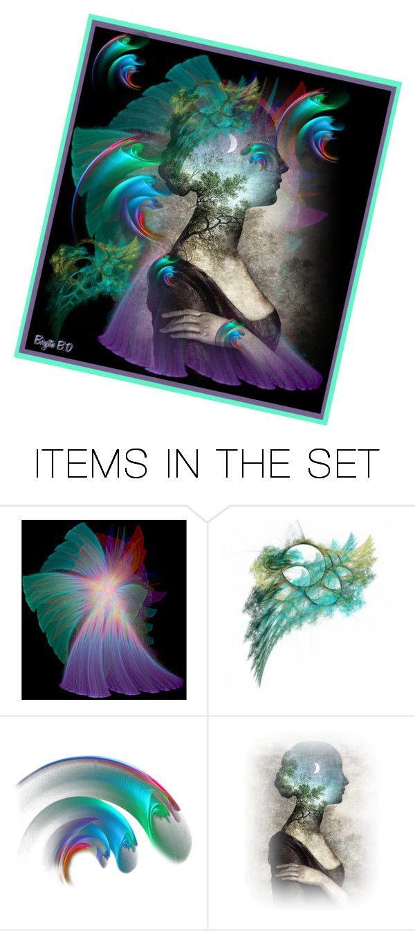 """Abstract"" by birgitte-b-d ❤ liked on Polyvore featuring art, contest, abstract and artset"