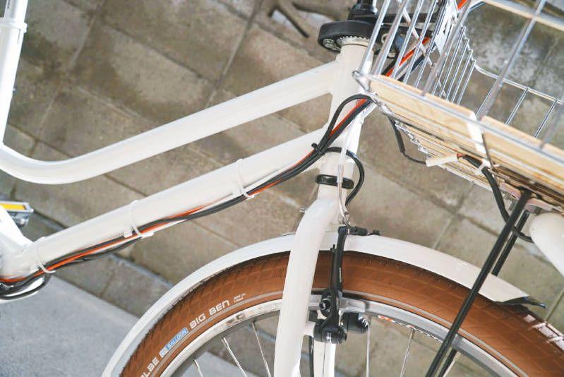 Hydee2 ハイディーツー カスタマイズ 子供乗せ電動自転車 Hydee2 ハイディーツー カスタマイズ ケーブル配線 クリップ 2 電動 自転車 自転車 ブリジストン