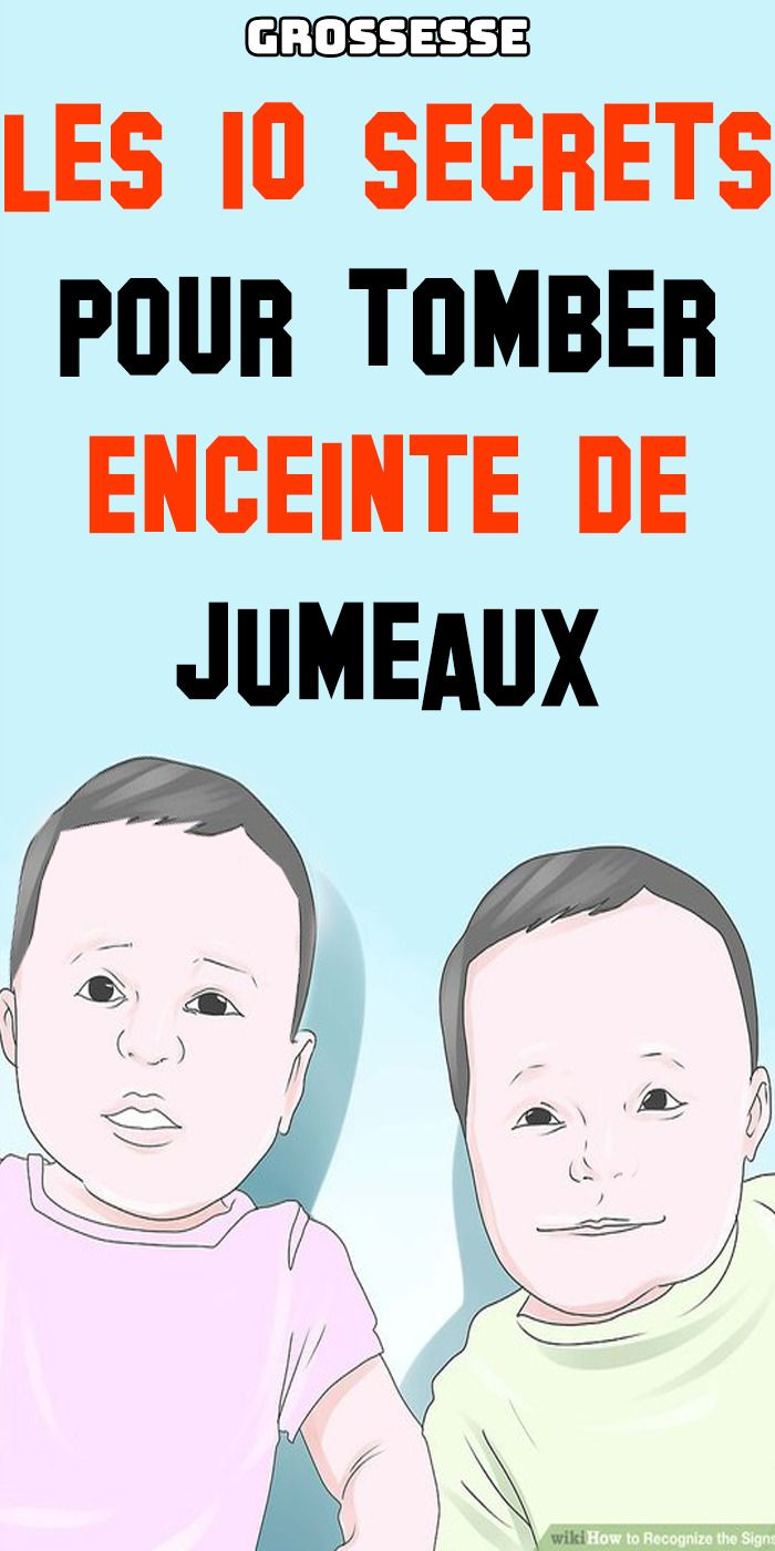 Comment Avoir Des Jumeaux : comment, avoir, jumeaux, Tomber, Enceinte, Facilement