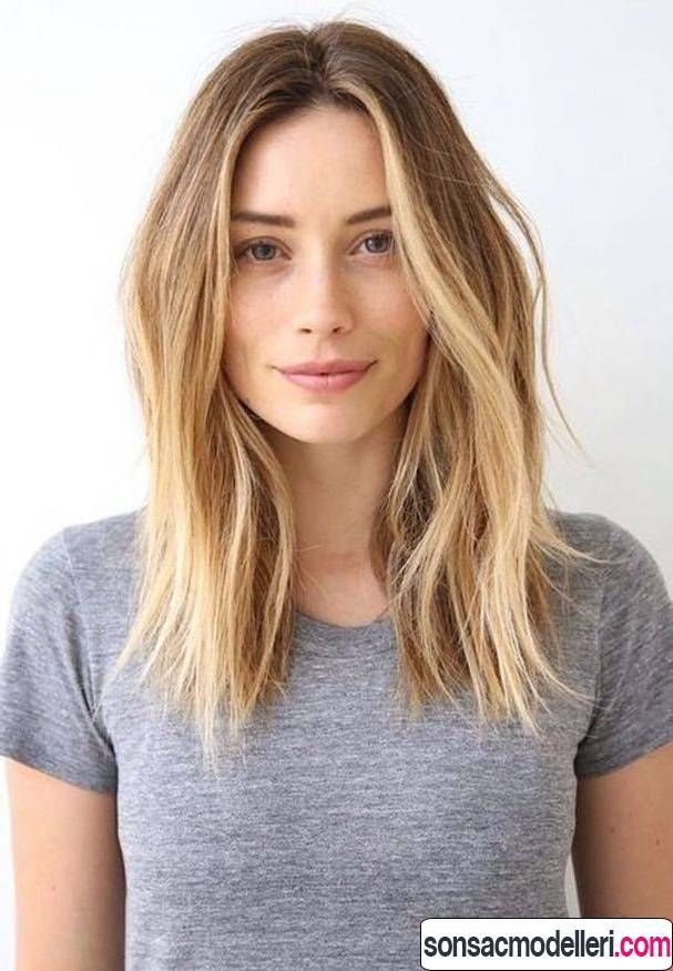 Kadinlar Icin Modern Orta Boy Sac Kesimleri Sac Kesimi Sac Kesimleri Uzun Sac