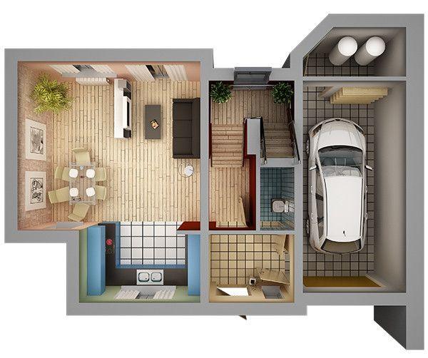 Maya Home Interior Floor Plan Free House Plans Interior Floor Plan 3d House Plans